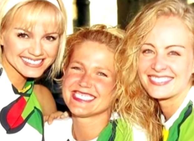 Eliana, Xuxa e Angélica em foto de arquivo (Foto: Reprodução)