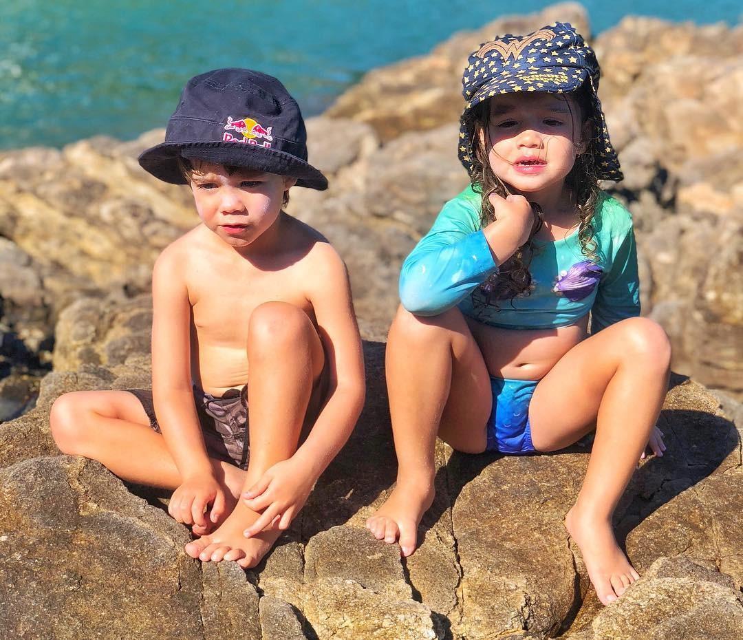 Os gêmeos Bem e Liz (Foto: Reprodução Instagram)