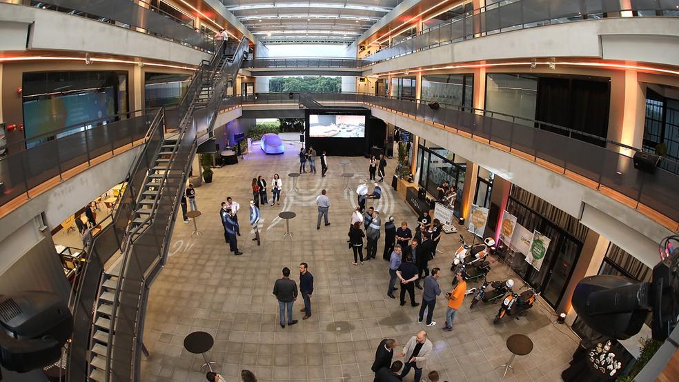 Ágora Tech Park torna-se Centro de Inovação de Joinville — Foto: Divulgação Perini Business Park