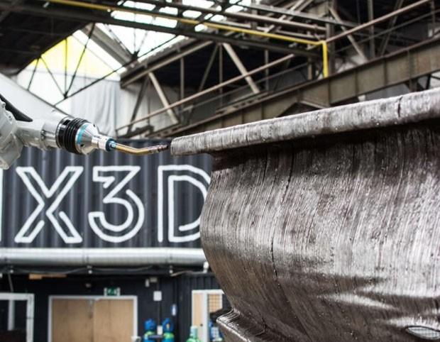 Primeira ponte impressa em 3D (Foto: Divulgação/ Joris Laarman Lab)