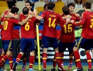 david silva espanha gol itália eurocopa (Foto: Agência Getty Images)