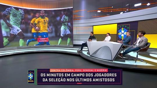 """Rizek critica pouca minutagem de jogadores que atuam no Brasil na Seleção: """"Não faz sentido"""""""