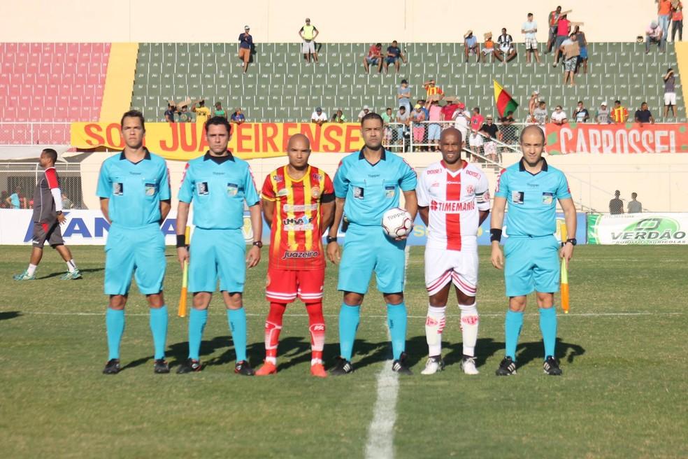 Juninho Tardelli foi destaque da Juazeirense no duelo que eliminou o América-RN (Foto: Canindé Pereira/América-RN)