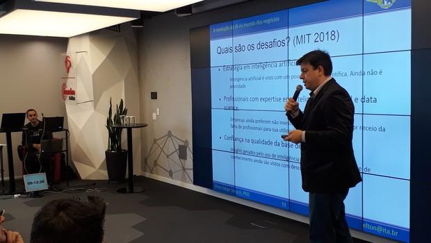 Elton Felipe Sbruzzi, professor de inteligência artificial do ITA (Foto: Editora Globo)