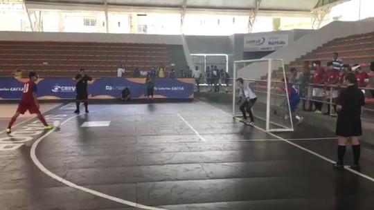 ADVP evita o rebaixamento e segue na elite do futebol de 5 do Brasil