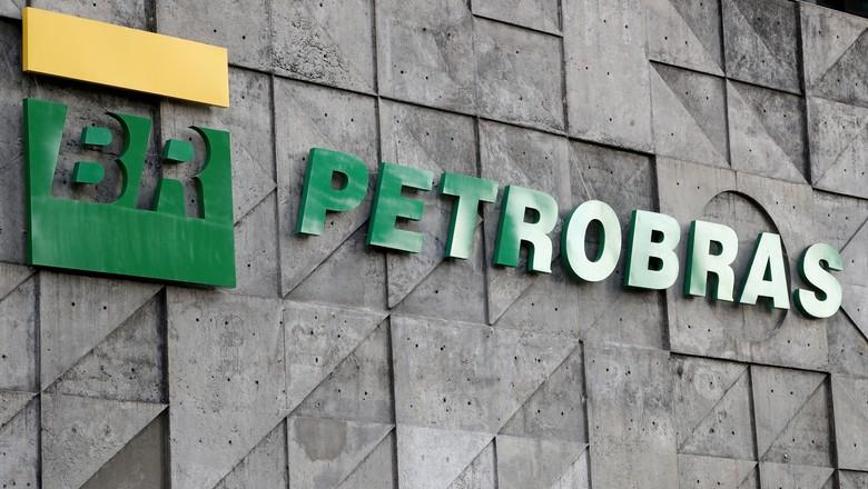 Logo da Petrobras na sede da companhia (Foto: Sergio Moraes/File Photo/Reuters)