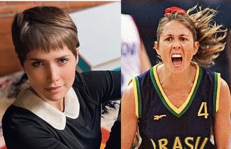 Letícia Colin interpretará a ex-jogadora Hortência num longa de Georgia Guerra que mostrara a seleção de basquete entre os anos 1989 e 1996 Reprodução