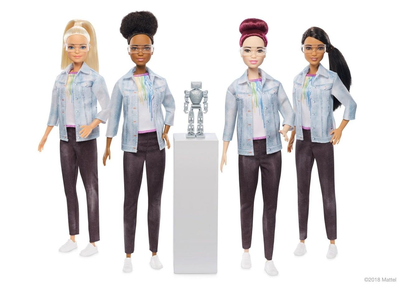Barbie Engenheira Robótica (Foto: Reprodução/Mattel)