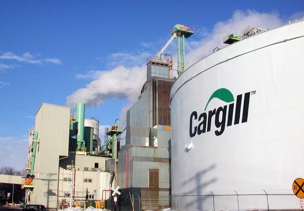 Unidade da Cargill ; agronegócio ;  (Foto: Divulgação)