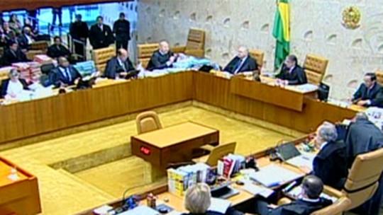 STF descarta pedido da defesa para desmembrar processo do mensalão