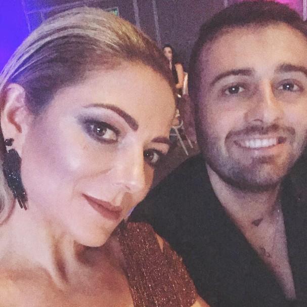 Karina Lucco e o filho Leandro (Foto: Instagram/Reprodução)