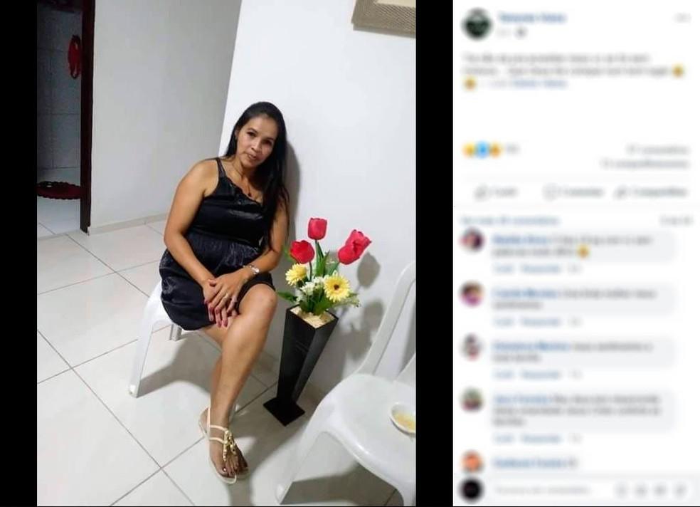 Eliene Viana trabalhava como costureira de uma empresa em São Benedito, no Ceará  — Foto: Arquivo pessoal