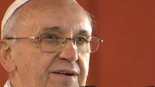 'Estamos unidos para dividir a fé e a alegria de Cristo', diz Papa Francisco