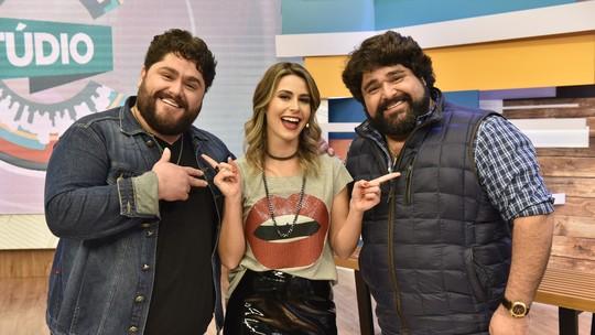 'Estúdio C' recebeu a dupla sertaneja César Menotti e Fabiano