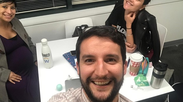 Pedro Moura e Sara Aragão; a importância do companheirismo em uma startup (Foto: Divugação)