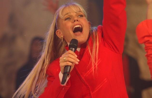 """Com cabelão, em 1998, no """"Planeta Xuxa"""" (Foto: Arquivo)"""