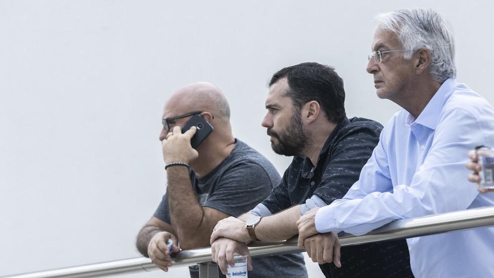 mário bittencourt, celso barros, fluminense — Foto: Daniel Perpétuo/Fluminense FC