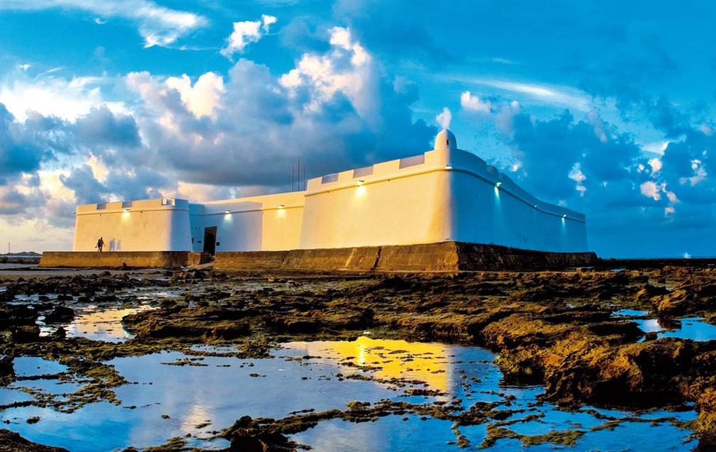 Fortaleza dos Reis Magos, em Natal (Foto: Fernando Chiriboga)