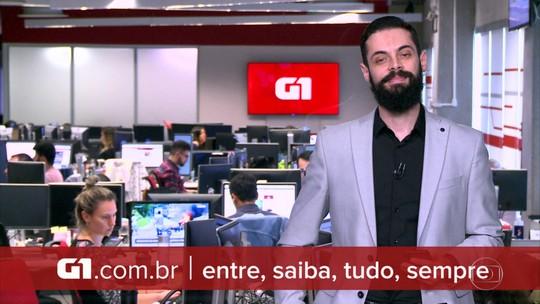 G1 em 1 Minuto: Justiça bloqueia R$ 3,5 bilhões em bens de MDB, PSB, políticos e empresas