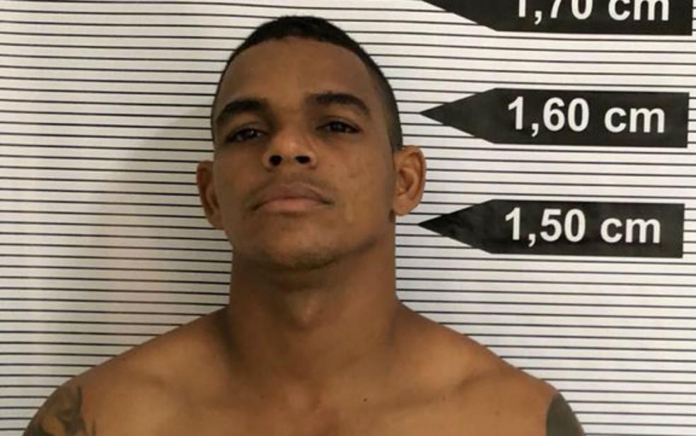 Rodrigo é suspeito de matar a ex-namorada a facadas na Bahia — Foto: Divulgação/Polícia Forense do Ceará