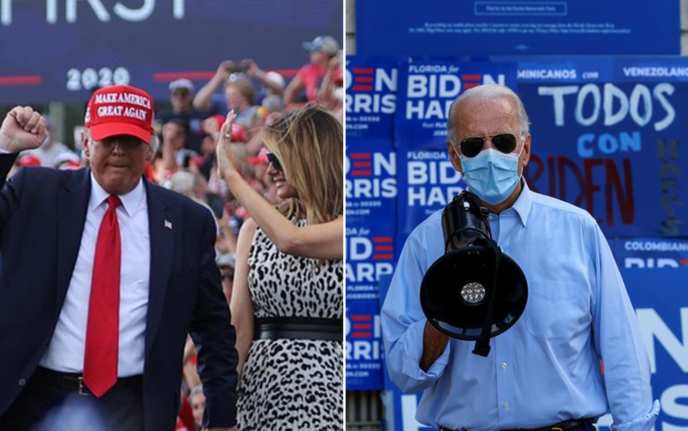 Republicanos reduzem distância para democratas na votação antecipada nos EUA  | Eleições nos EUA 2020 | G1