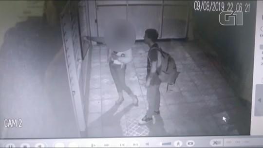 Vídeo mostra suspeito de matar haitiana em Gravataí mexendo no caixa do motel; assista