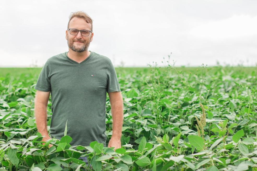 Rogério Vian, produtor rural de Mineiros, sudoeste de Goiás — Foto: Leonardo Frota/Divulgação