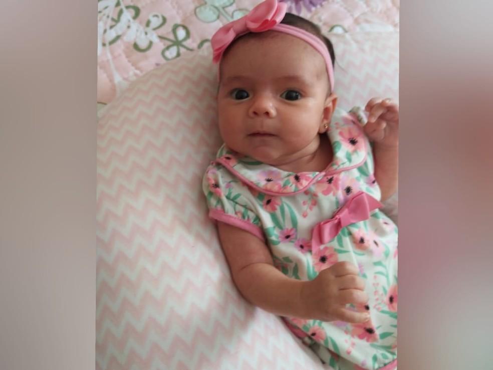 Bebê nasce com anticorpos contra Covid no Ceará — Foto: Arquivo pessoal