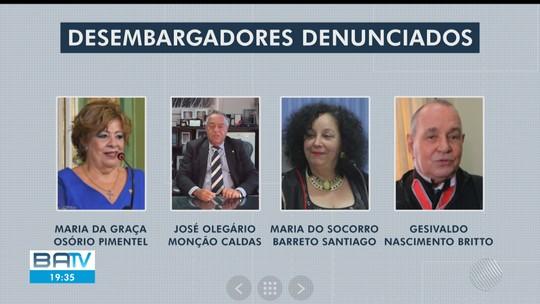 PGR denuncia quatro desembargadores, três juízes e mais oito suspeitos por corrupção