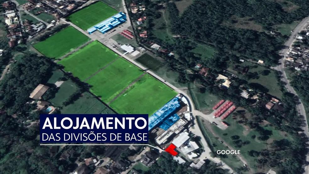 ninho do urubu — Foto: Reprodução / TV Globo