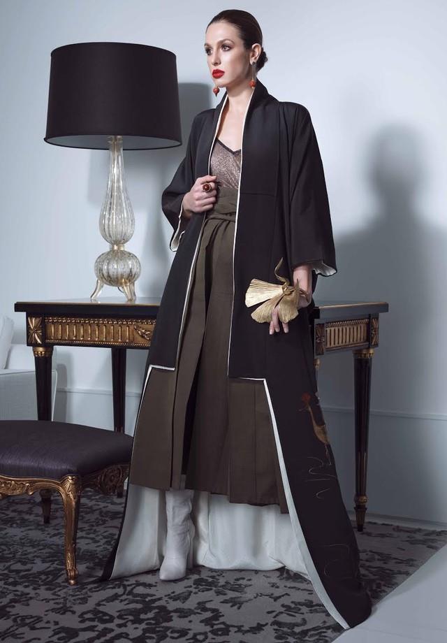 Coleção Bijin-ga da Daianne Bohn Couture (Foto: Divulgação)