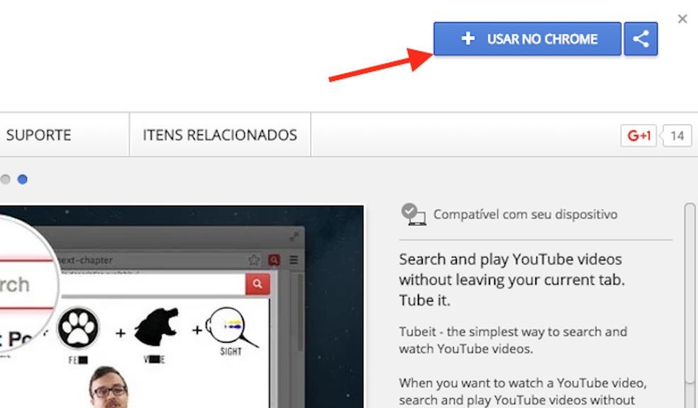 Extensão para Chrome permite ver vídeos sem acessar YouTube
