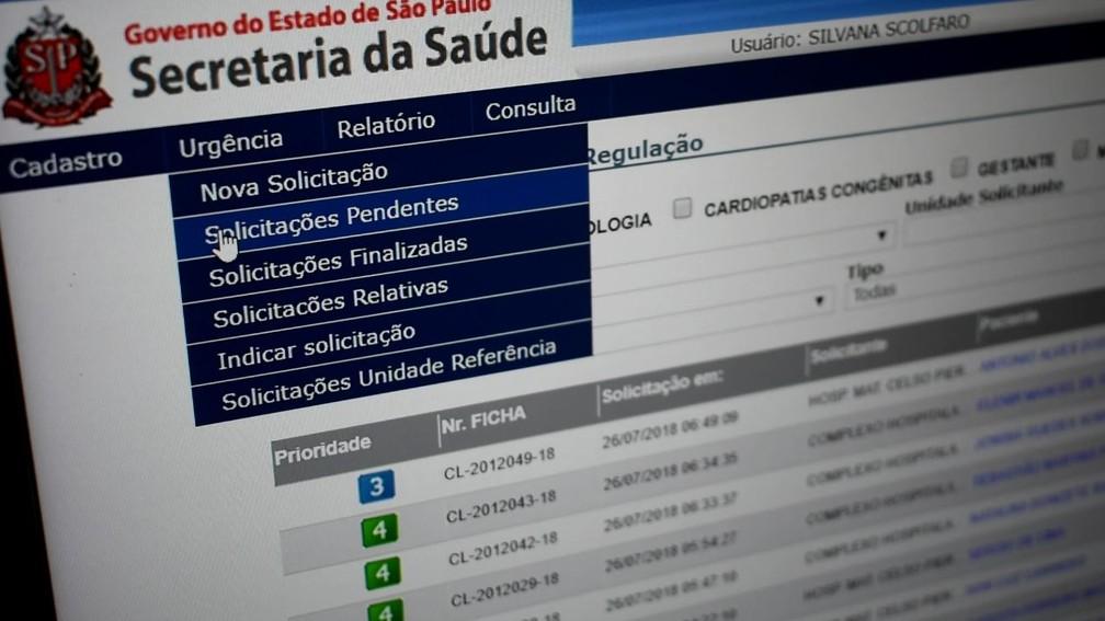 b52108b57 ... Central reguladora de vagas distribui pacientes na rede de saúde de  Campinas — Foto  Patrícia