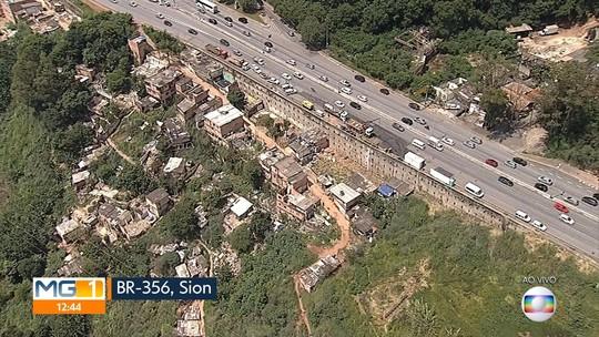 Sobe para 32 número de moradias que devem ser desocupadas no Morro do Papagaio, em Belo Horizonte