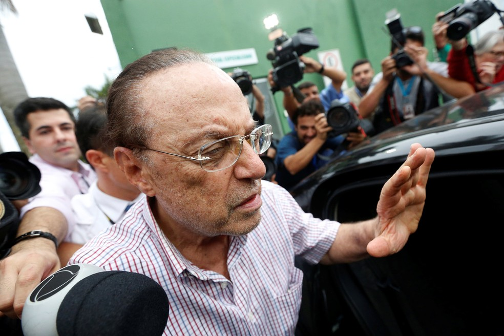 O ministro Edson Fachin, do STF, determinou a perda do mandato de deputado federal de Paulo Maluf (Foto: Adriano Machado, Reuters)