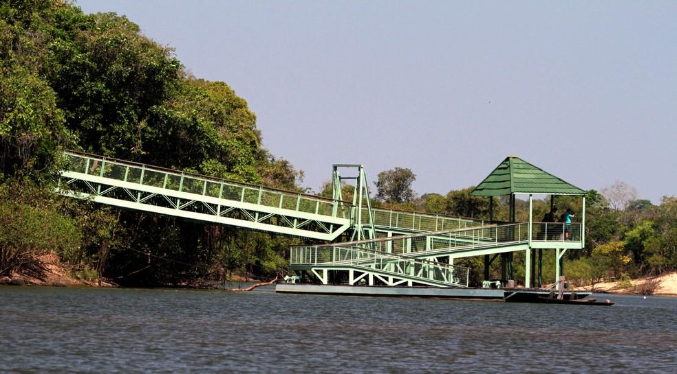 Parque do Cantão também está sujeito às novas regras — Foto: Divulgação/Governo do Tocantins