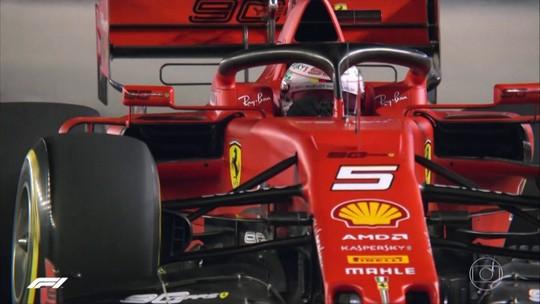 Grande Prêmio de Singapura de Fórmula 1 é no domingo (22)