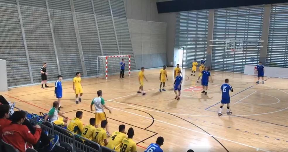 Caic Balduíno vence na estreia do Mundial Escolar 2018 (Foto: CBDE)
