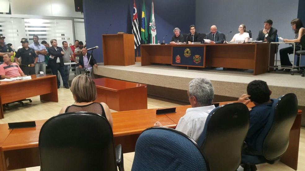 Câmara cassou prefeito de Campo Limpo Paulista (Foto: Sandro Zeppi/ TV TEM)