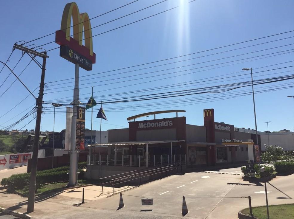 Uma das unidades do McDonald's em São Carlos (SP) (Foto: Fabiana Assis/G1)