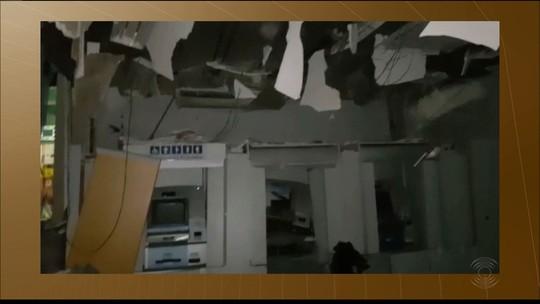 Grupo explode caixas e cofre de agência bancária em Picuí, na PB