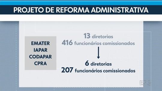 Projeto prevê unificar Emater e outros três órgãos do Governo do Paraná