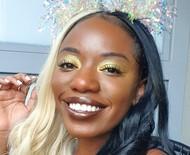 Passo a passo: maquiagem dourada com poucos produtos para o Carnaval