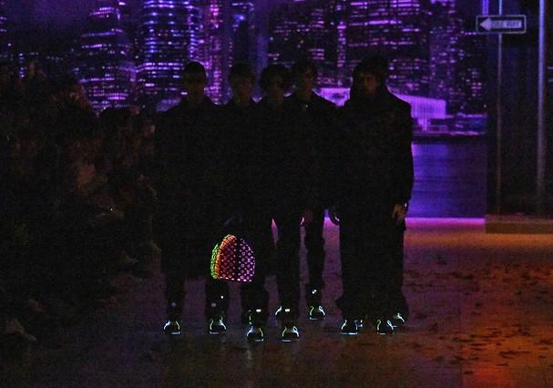 Bolsa que brilha no escuro (Foto: Getty Images)