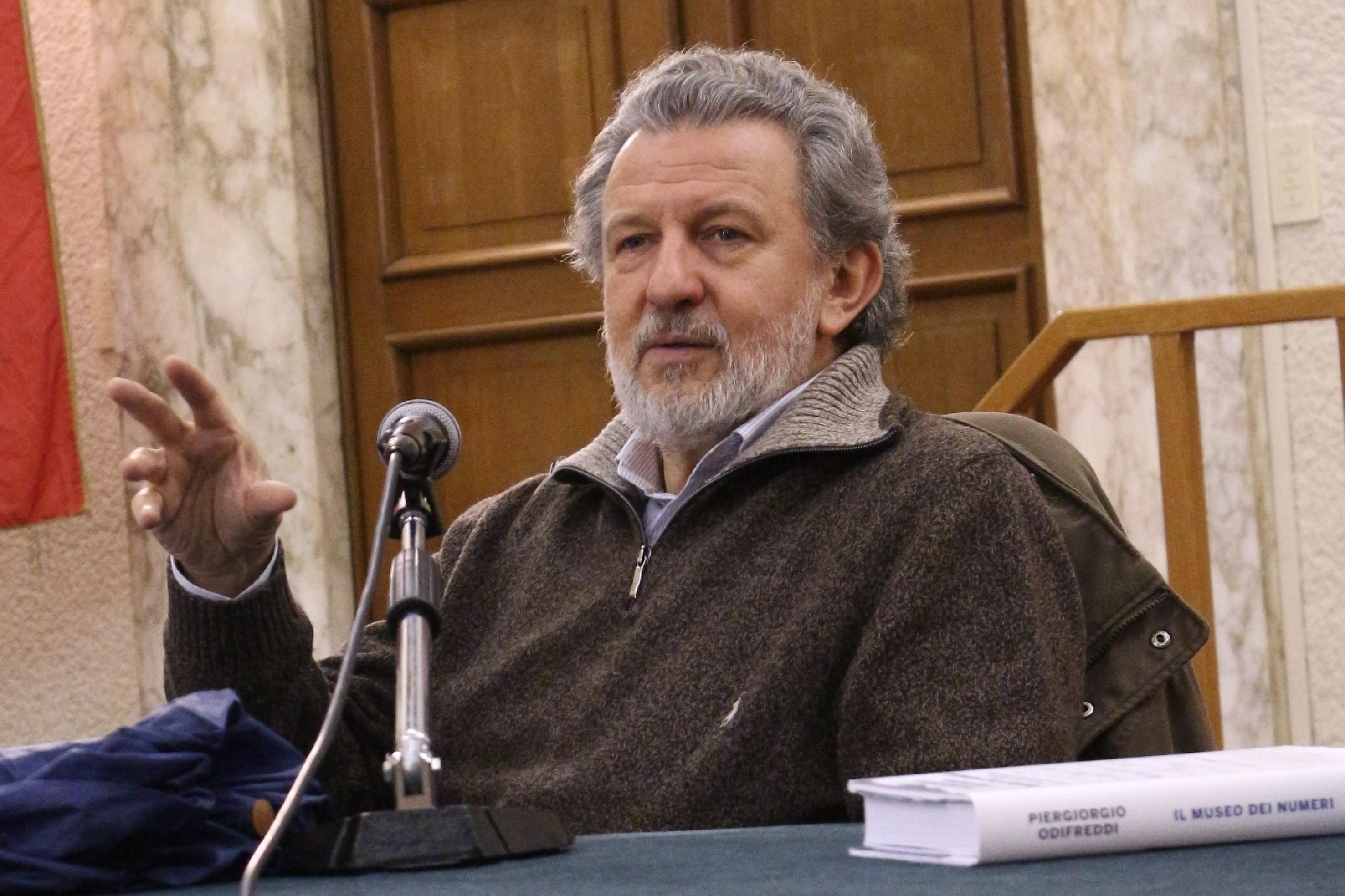 Piergiorgio Odifreddi (Foto: Wikipedia / Dettagli)