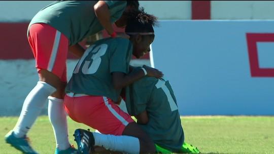 Os gols de Caixa D'Água 2 x 1 Corte Oito pela final feminina da Taça das Favelas