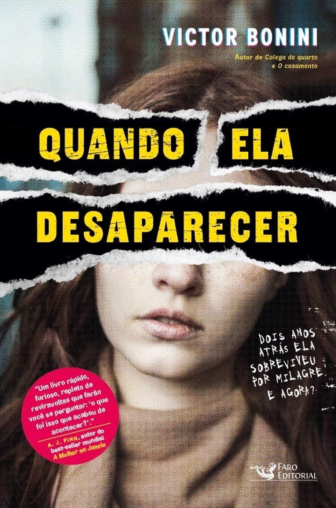 Quando Ela Desaparecer, por Victor Bonini (Foto: Divulgação/Amazon)