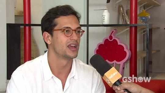 Em visita à Caruaru, Raphael Vianna falou sobre o começo da vida artística, família e teatro.