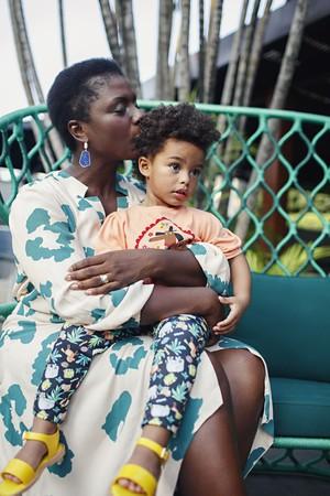 Olívia, 2, é filha de Adriana com o chef francês Olivier (Foto: Érika Verginelli)