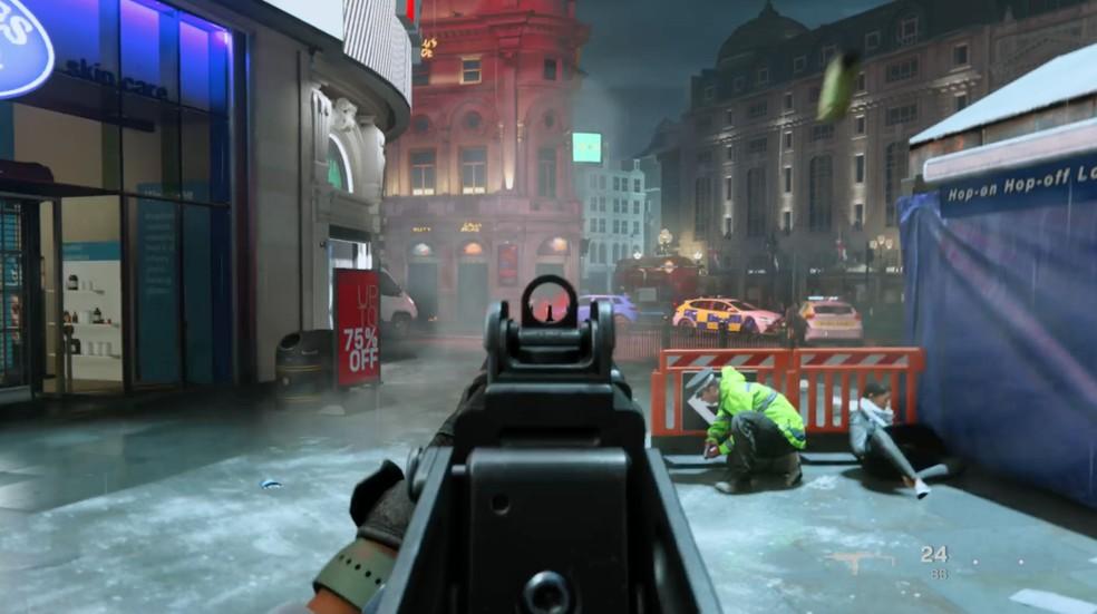 Call of Duty Modern Warfare traz jogabilidade que consagrou a franquia — Foto: Reprodução / TechTudo